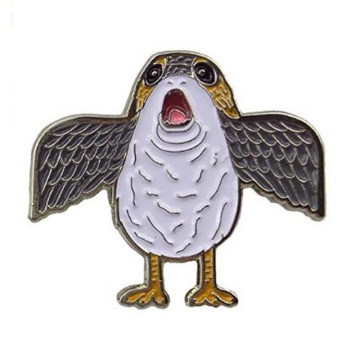 Porg Flapping Wings Meme Emaille Pin