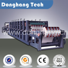 Automatische Jumbo Roll-Flexo-Druckmaschine