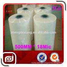 Popular China Machine Used pe plastic pallet stretch film