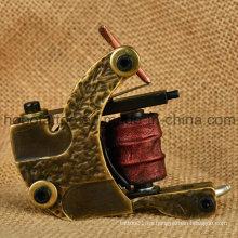 Nuevo arma de cobre amarillo de la bobina del tatuaje al por mayor con alta calidad