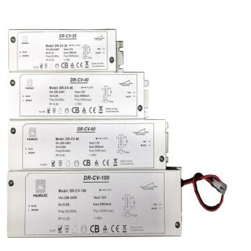 ETL boxed regulable 12V 24V led conductor