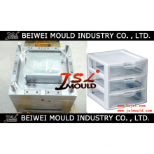 Customized Injection Plastic Household Drawer Cabinet Mould
