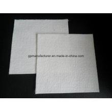 Géotextile non tissé perforé par aiguille courte de fibre de polyester utilisé dans la décharge