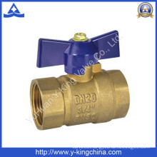 Copper Ball Valve with Butterfly Handle (YD-1027)