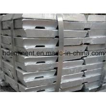 Grosses soldes! 99,995% Lingots de zinc pour l'utilisation de caoutchouc