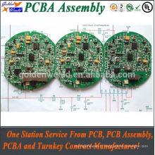Carte de circuit imprimé d'Assemblée de carte PCB d'OEM FR4 avec le service d'Assemblée de carte PCB d'or d'immersion