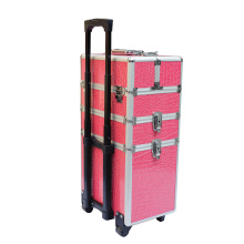 Professional Cosmetic Trolley Case with Wheels