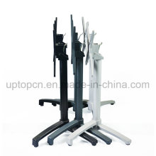 Hot Sale Aluminum Alloy Stackable Folded Table Base for Large Restaurant Table Top (SP-ATL249)