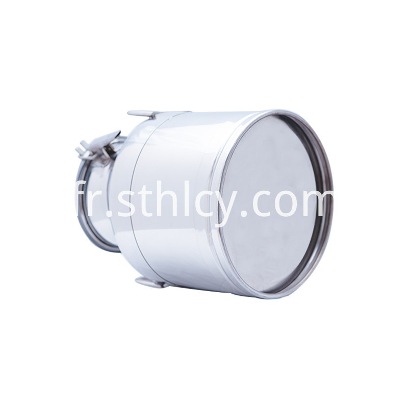 Iron Xiaobing 5 gallon stainless steel lid bucket