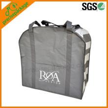 wholesale big handled non woven storage ziplock bedding bag
