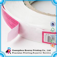 Woodfree paper printing custom vinyl sticker roll wholesale
