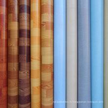 Approvisionnement de plancher en PVC en rouleaux