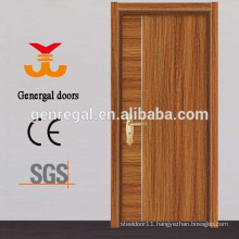 Modern MDF interior melamine wood door