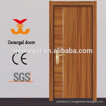 Modern MDF interior melamine wood door