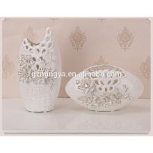 China china hallow out flower vase flower ceramic flower pottery vase