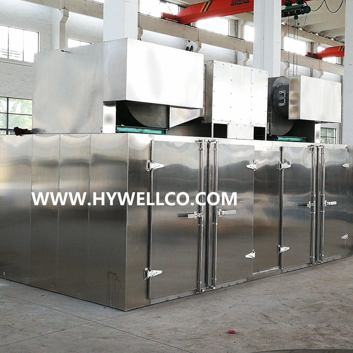 Tray model hot air oven