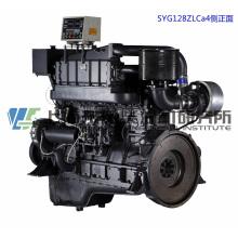 Главный двигатель. Судовой дизельный двигатель G128. Шанхайский дизельный двигатель Dongfeng. 278,8 кВт, 1500 об / мин