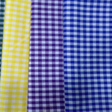 100% Polyester Garn gefärbte Farbe für Hemd