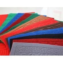 Fabrik liefert dekorative Teppichrollen aus weichem Velours