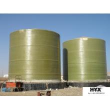 Tanque de FRP de grande escala para líquidos químicos