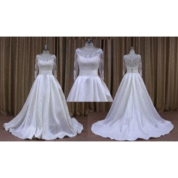 Новая Модель Высокое Качество Свадебное Платье Реальную Картину