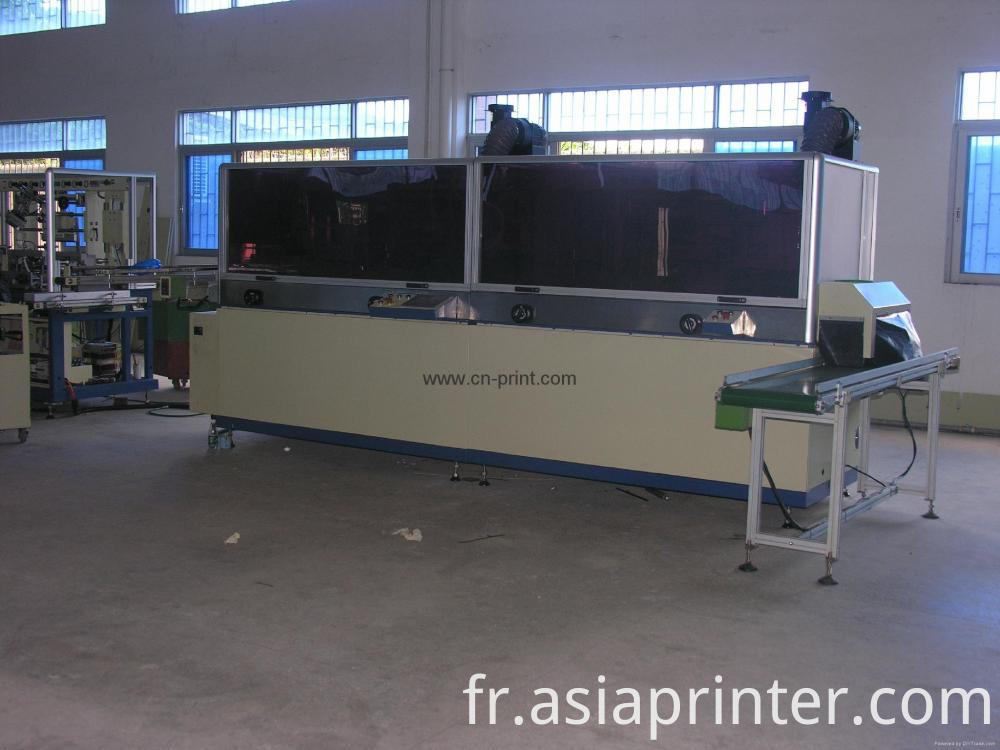 Plastic Bottle Automatic Uv Screen Printer