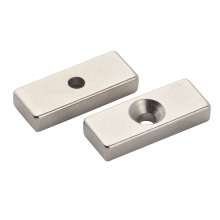 Permanent NdFeB Magnet, Block Shape with Nickle Plating