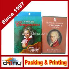 Pacote de Cartas de Baralho de Música Compositor - 2 Items, 1 Cartas de Baralho de Música Alfred- Deck de Compositores Clássicos e 1 Jogo de Cartas de Compositores Clássicos e Românticos (430084)