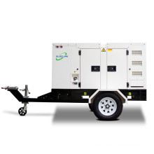 60Hz 10kw 12kva Mobile Trailer Small Diesel Generator Powered By Cheap Yangdong YD380D Self Start Cheap Price
