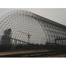 Large Span Galvanized Steel Roof Construction