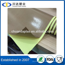 Alibaba fornecedor de garantia comercial eletronicamente isolamento PTFE tecido de vidro de teflon com adesivo de silicone