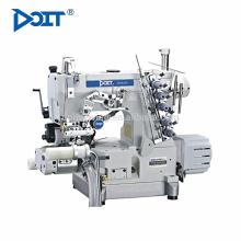 DT600-33AC / PUT / DD Direktantrieb rechts Cutter pneumatische automatische Trimmer Hochgeschwindigkeitszylinder Bett Interlock-Nähmaschine