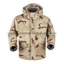 Military Desert Camo Ecwcs Parka with Fleece Liner Inside