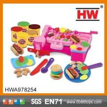 Lustige Kinder pädagogische DIY Spielzeug-Nahrungsmittelfarbe Lehm