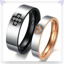Joyería de acero inoxidable moda regalo par anillos (rs542)