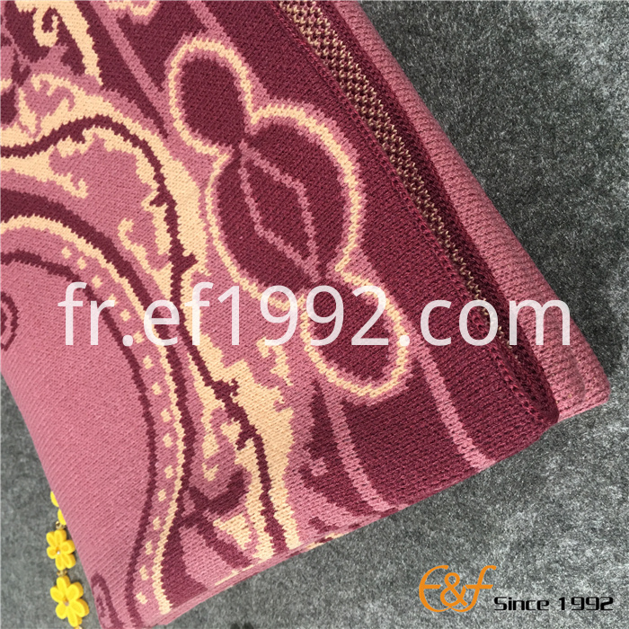 luxury knitted blanket