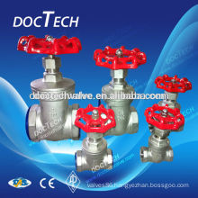 """Hot Sales Thread Brand New High Quality 1/2"""" Gate Valve Stainless Steel SUS SS 316 CF8M Heavy Duty"""