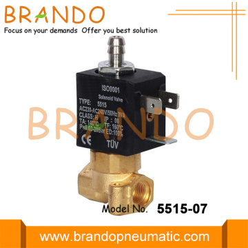 "55 Σειρά 3 Way 1/8 ""Brass Solenoid Valve"