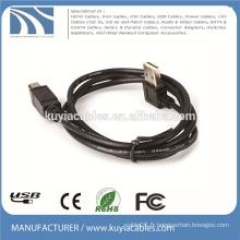 USB2.0 Angle droit Type A à Type B Câble d'imprimante mâle à mâle 1M 2M