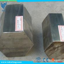 ASTM Standard 200,300,400 Série 304L Stainless Steel Hex Bar