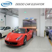 Ascenseur de parking intérieur en acier inoxydable
