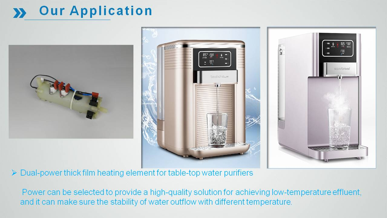 24 heating element application