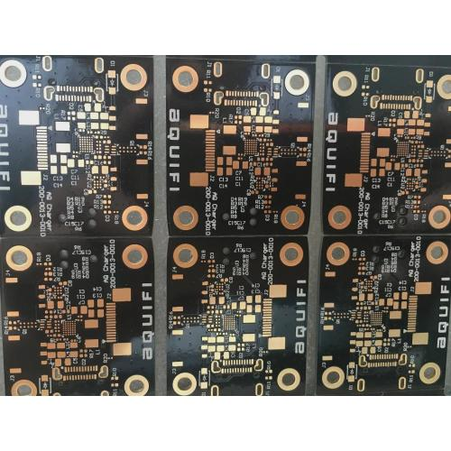 4 capas de 1.0mm VIa en PCB Pad