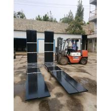 Garfos de aço forjados especiais para mecanismo de tratamento térmico