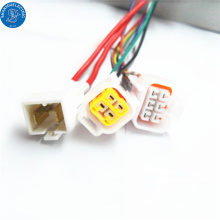 Electronics manufacturing industry automotive wiring harness standards 6pin connector sheathing