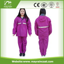 New Style Hot Sale Hooded Rain Suit