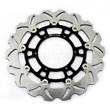 Floating Motorcycle brake disc rotor for F 700 GS ABS 2013 - 2016