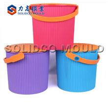 molde de balde de tinta plástica