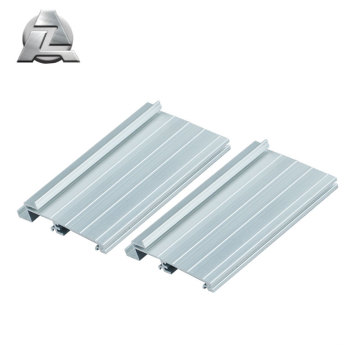 6000 series silver anodized aluminium door threshold strip