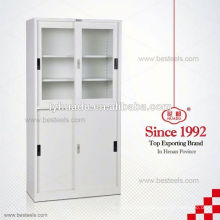 1800mm sliding glass door laboratory steel storage cabinets for sale
